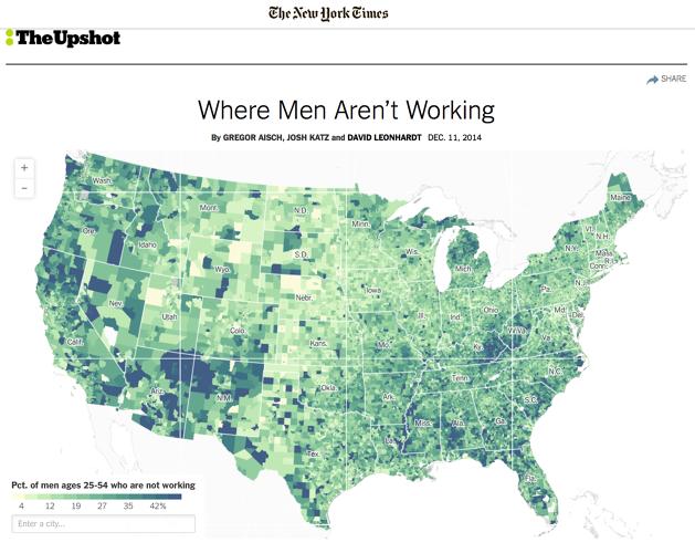male workforce
