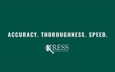 KRESS Now Providing NABSC Screening Programs