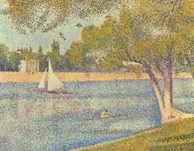 pointillism reflects the national database search's limitations